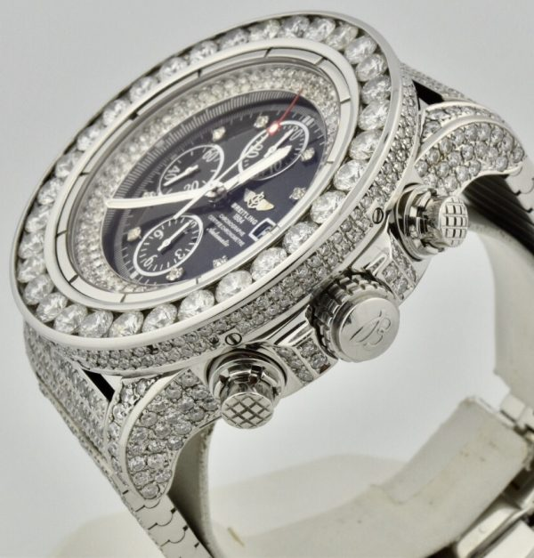 Iced out breitling side