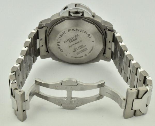 Panerai Titanium Case Back