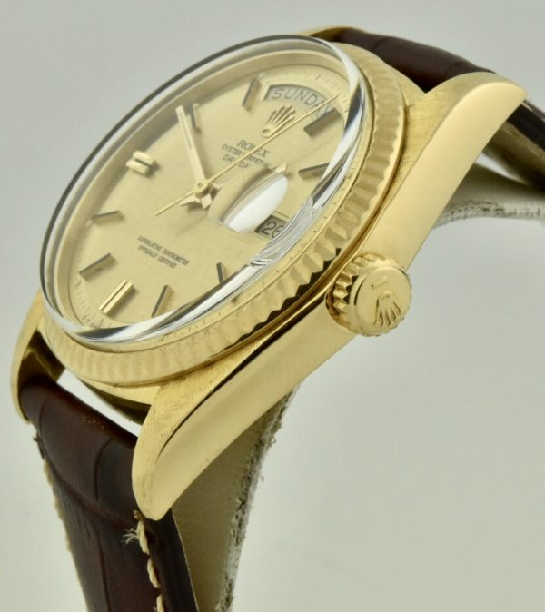 rolex day-date 1803 side