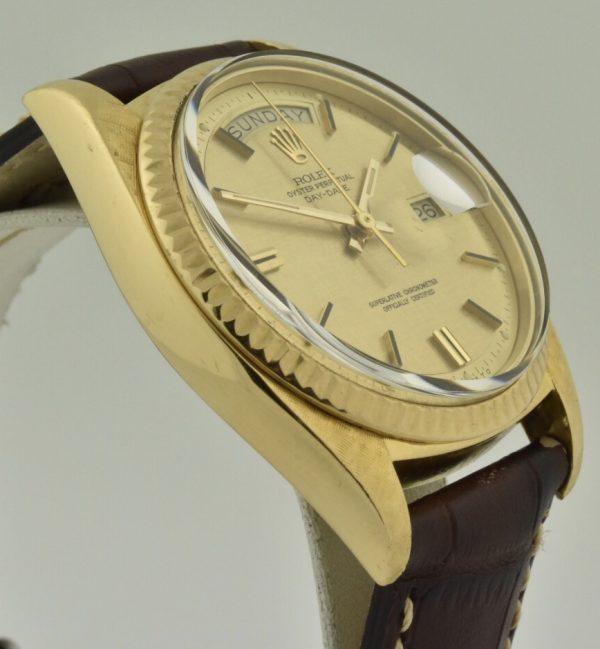 rolex 1803 linen dial
