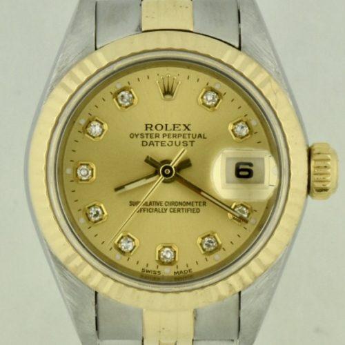 rolex datejust 79163