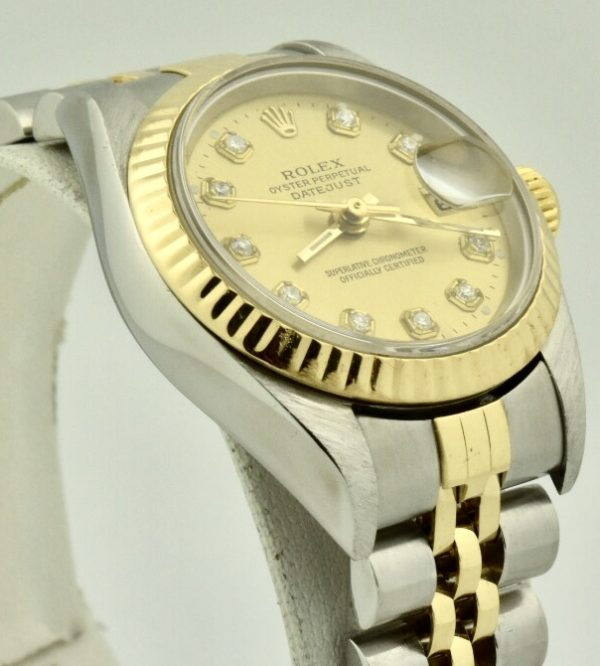 IMG 2187 600x666 - Rolex Datejust 26mm