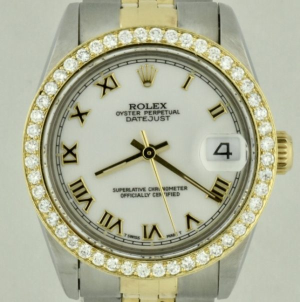 rolex datejust midsize 68273