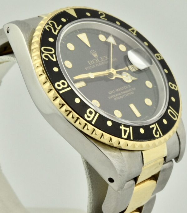 rolex gmt master side case