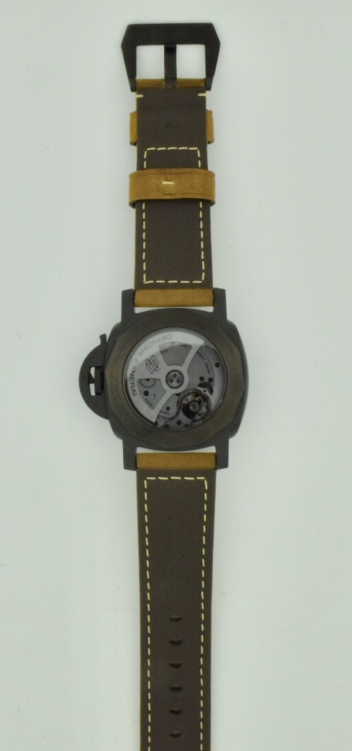 panerai luminor ceramica case back
