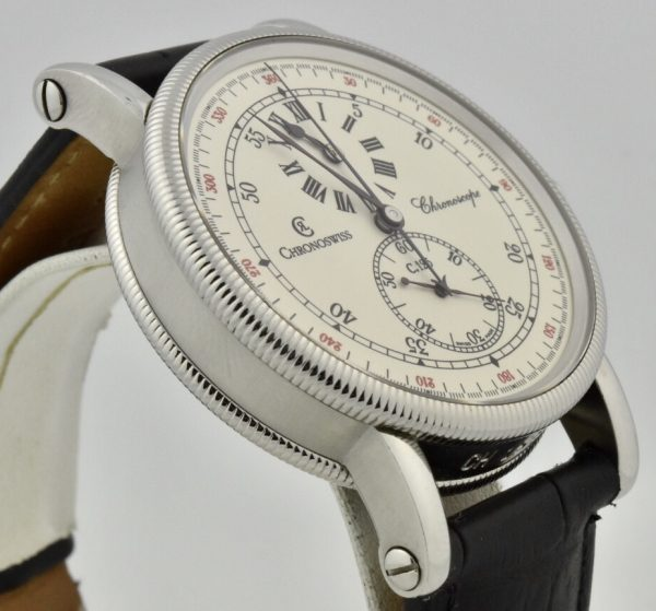 chronoswiss chronoscope side