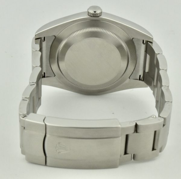 rolex oyster perpetual case back