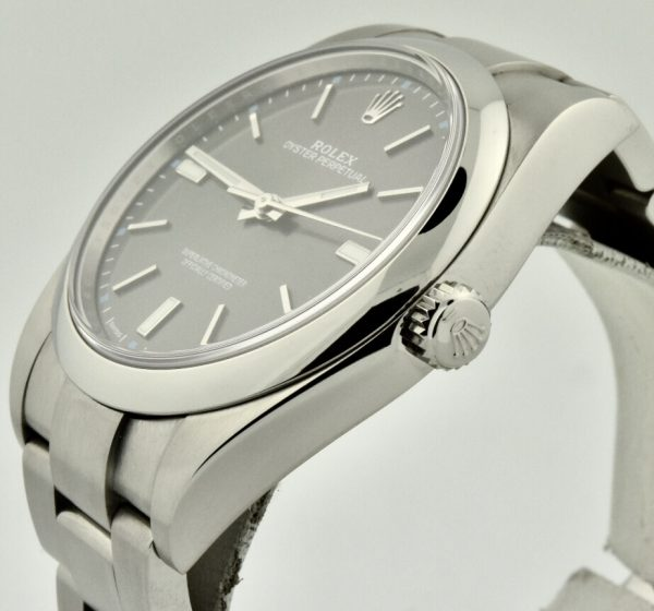 rolex oyster perpetual side