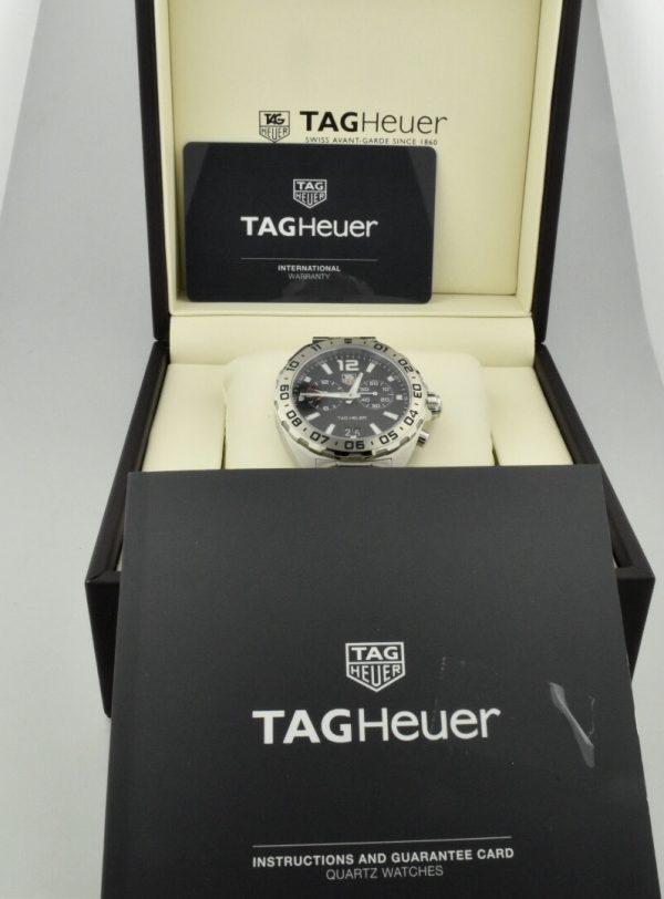 tag heuer formula one alarm chronograph