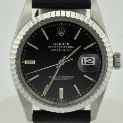 Rolex Datejust 16030 black dial