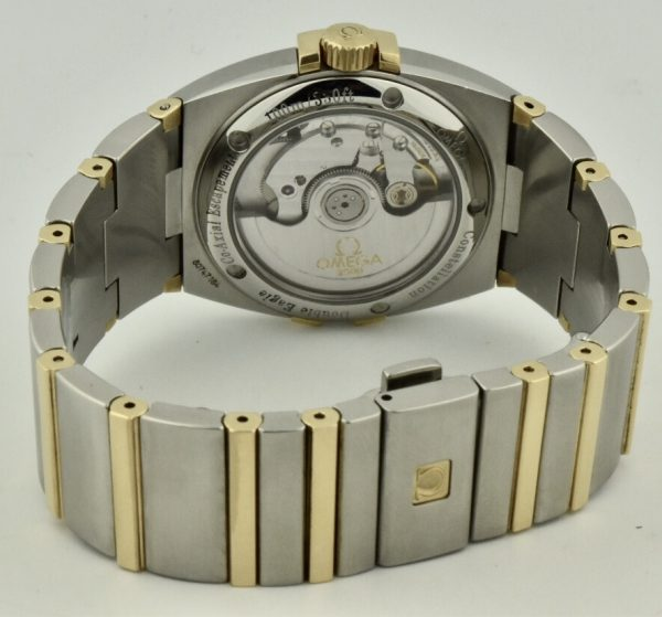 omega constellation co-axial case back