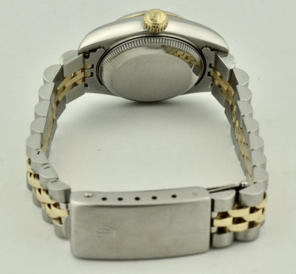 rolex datejust 69173 case back