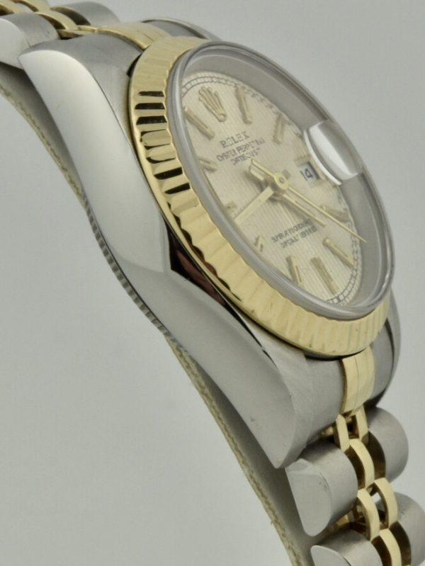 rolex datejust 69173 case side