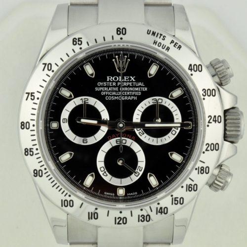 Rolex daytona 116520 black dial 2017