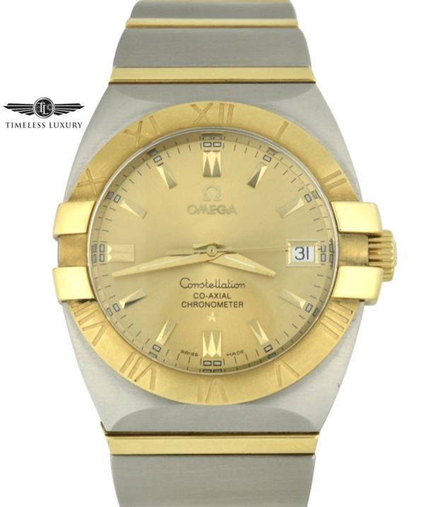 OMEGA constellation double eagle 35mm