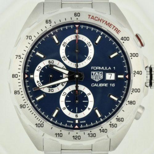 tag heuer formula 1 caz2015 blue dial