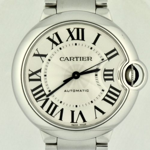 Cartier Ballon Bleu 36mm Stainless Steel Automatic