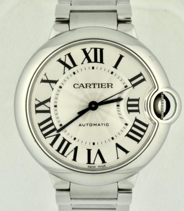 Cartier Ballon Bleu 36mm Stainless Steel Automatic