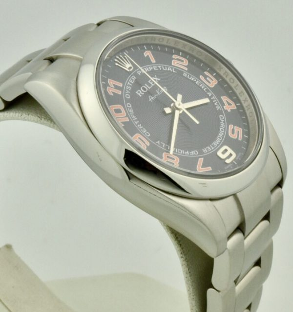 rolex air king 114200 side