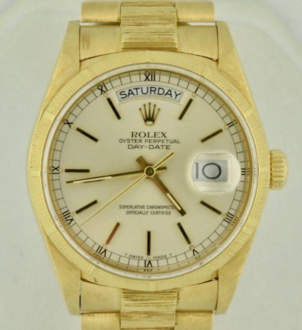 Rolex 18078 President Bark