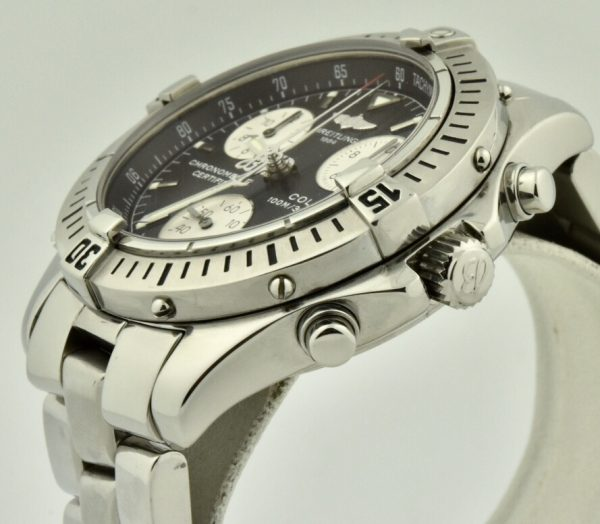 breitling colt chronograph crown
