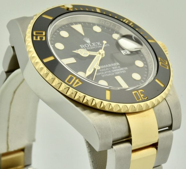 rolex submariner 116613 black ceramic