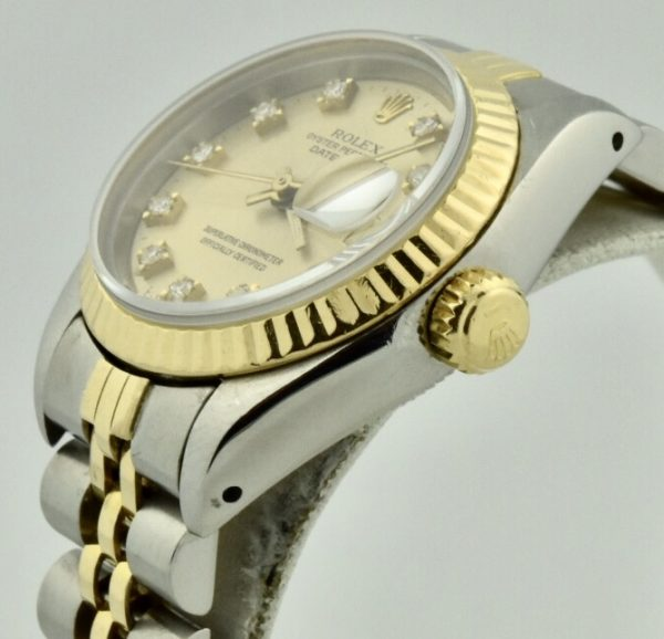 IMG 2943 600x578 - Ladies Rolex Datejust 26mm