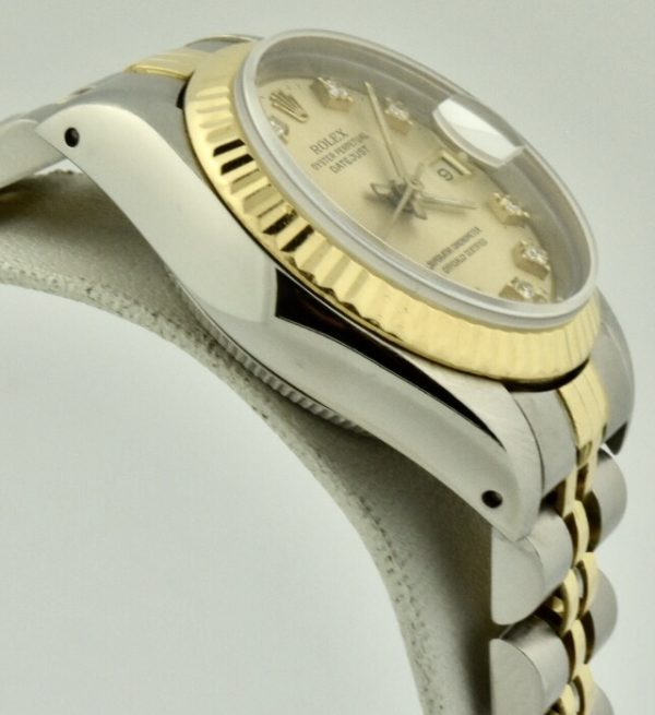 rolex datejust case side 69173