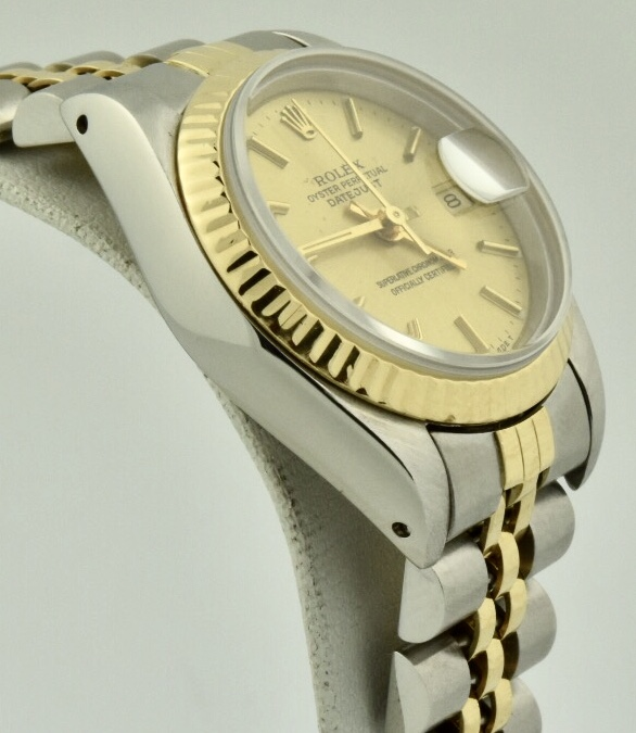 rolex datejust case side