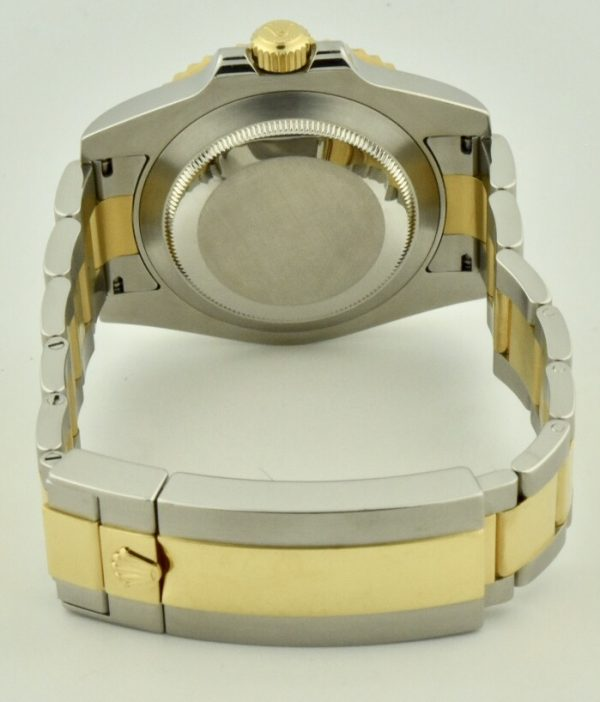 rolex submariner case back steel