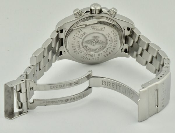 breitling colt chronograph case back