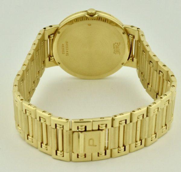Piaget dancer band 18k gold