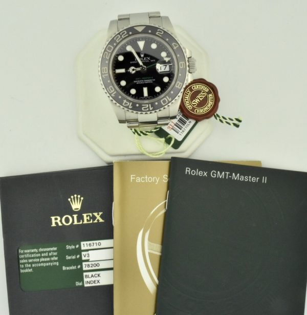 rolex gmt ceramic 116710 for sale
