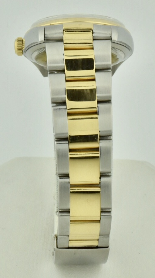 rolex datejust oyster band gold