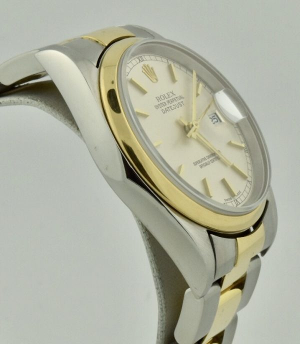 rolex datejust side 16203