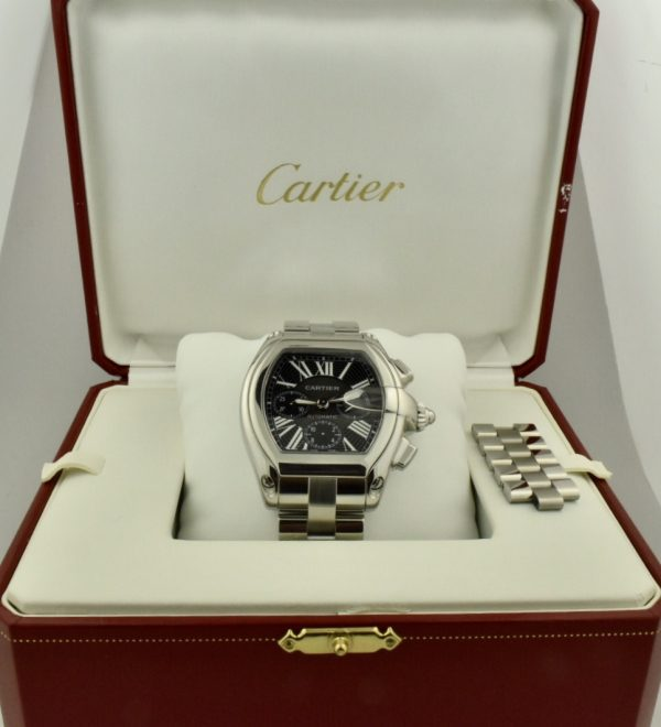 cartier roadster xl chronograph
