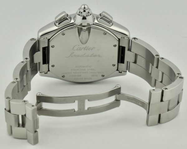 cartier roadster xl case back