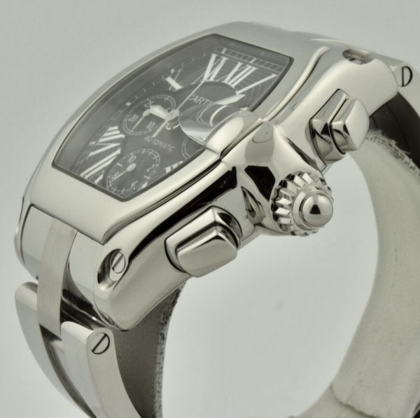 cartier roadster chronograph crown
