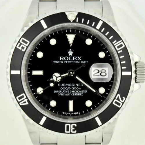 Rolex 16610T Submariner Rehaut For Sale