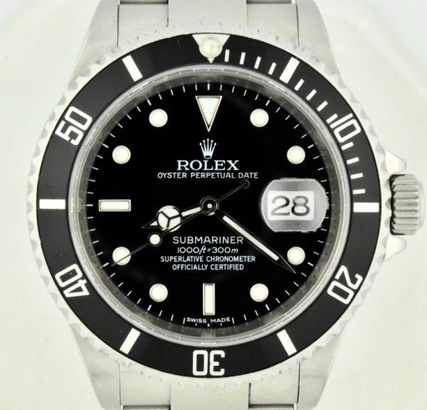 Rolex 16610T Submariner Rehaut For Sale