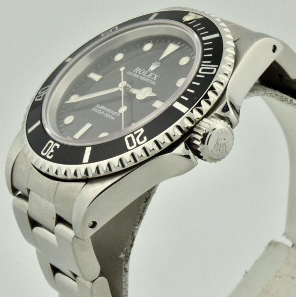 rolex submariner no date crown