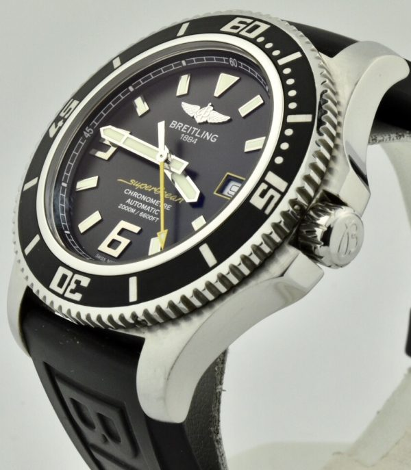 breitling Superocean crown
