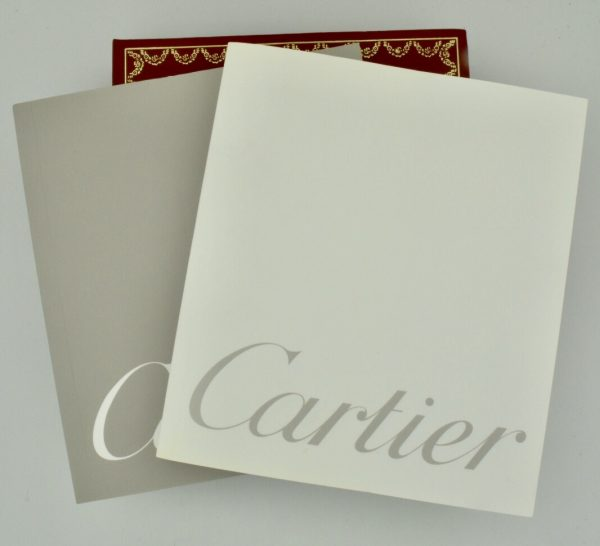 cartier tank booklets