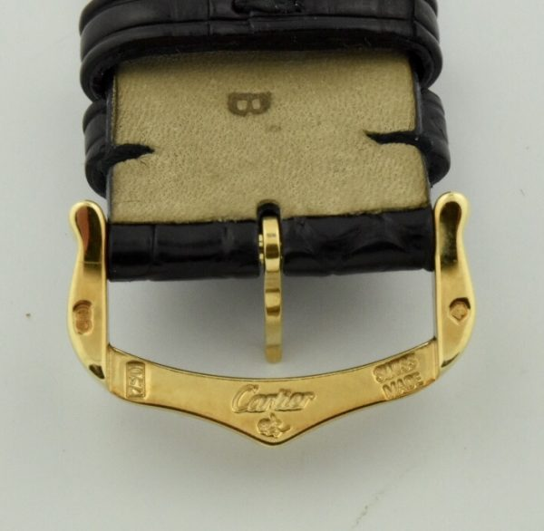 cartier 18k gold buckle