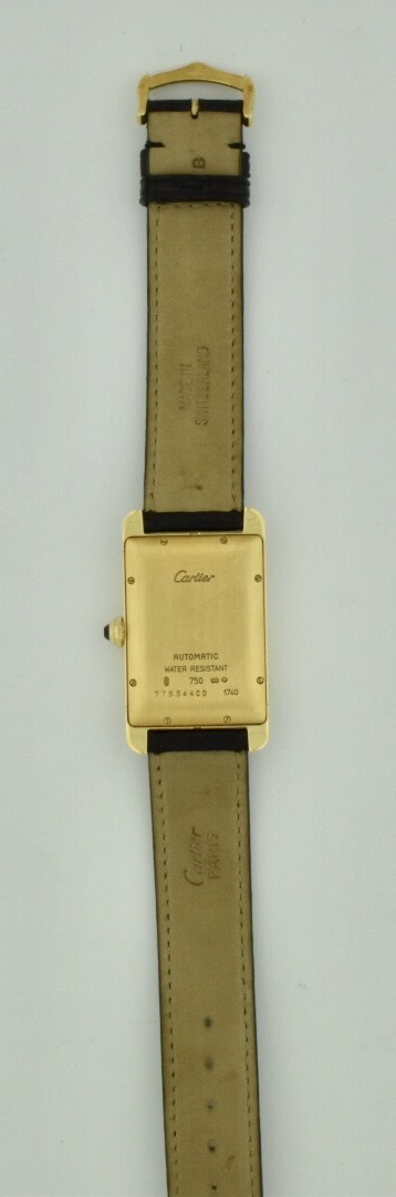 cartier tank américaine back