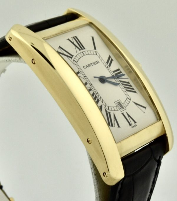 cartier tank américaine case side
