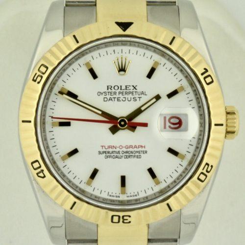 Rolex Turnograph 116263 white dial