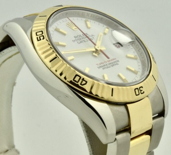 rolex datejust turnograph 116263 case side