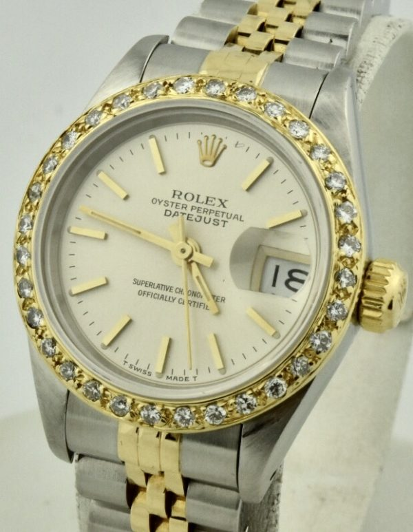 ladies rolex datejust diamond for sale atlanta