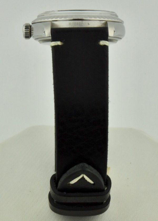 rolex datejust vintage leather strap